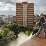 mantenimiento de techos y Limpieza fachadas