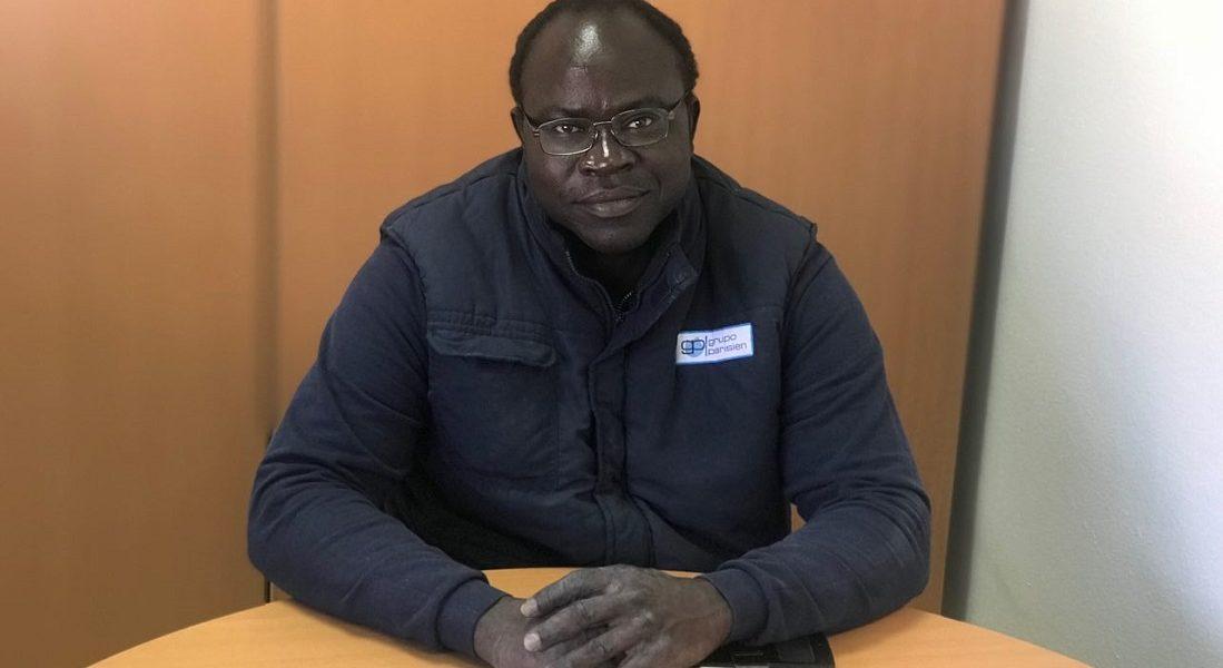 Pierre Gomis, operario Grupo Parisien