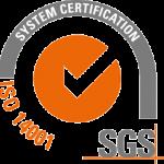 Certificado ISO 14001 Grupo Parisien