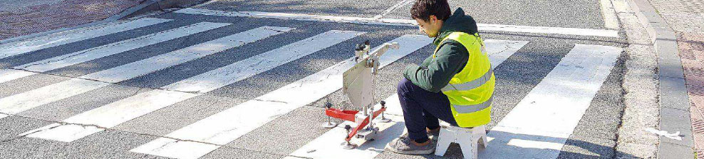 Pavimento antideslizante paso de peatones