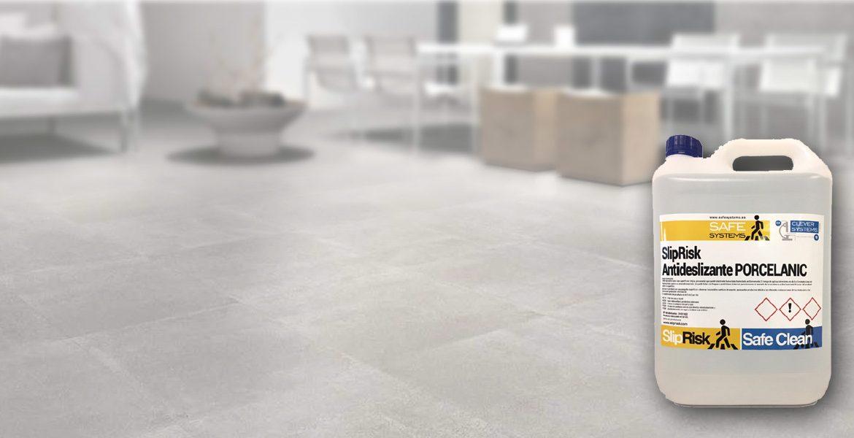 Antideslizante para pavimentos de gres porcelánico